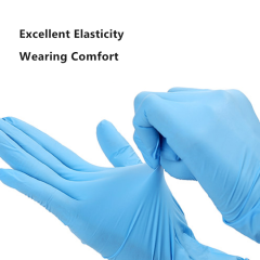 Stock Disposable Nitrile Gloves Surgical Sterile Powder Mitten Latex Medical Vinyl Gloves