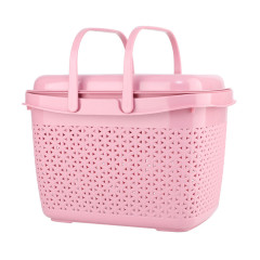 Large Size Plastic PP Storage Plastic Basket With Isolation Layer