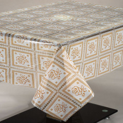 OutDoor Plastic PP Table Cover Clear Soft PVC Thick Clear Table Cloth