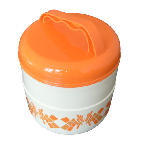 Top Sale Plastic PP Insulated Bento Tiffin Food Warmer Lunch Box Jar