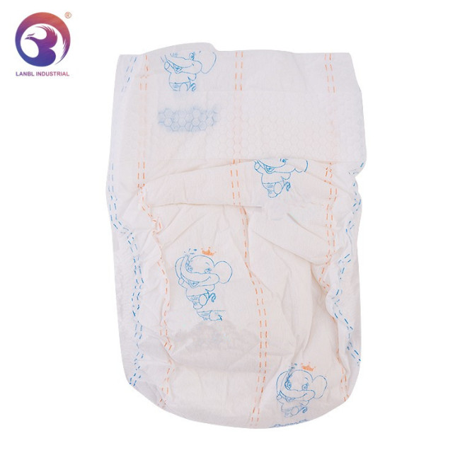 2019 Hot Sale Clothlike Film Disposable B Grade Nappies For Baby Size S M L XL XXL