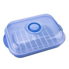 PLastic PP Colander Rectangular Plastic Colander Washing Vegetable