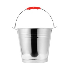 6L Wholesale Stainless Steel Water Bucket With Handle and Lid