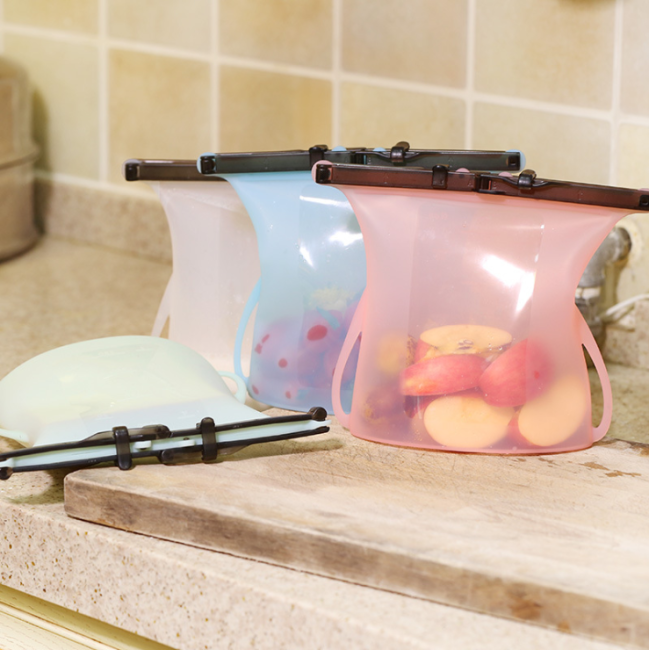 Silicone Bags for Food Silicone Food Grade Reusable Storage Bag