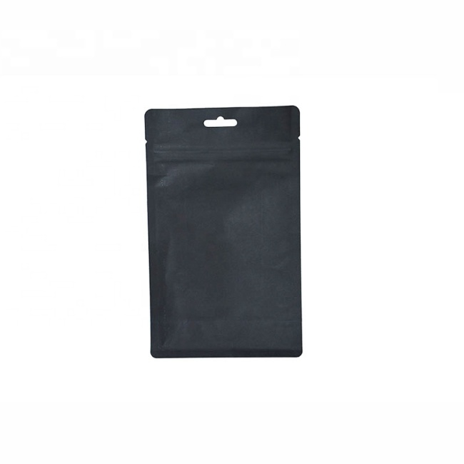 Stand Up Pouch for Tea Nylon Zipper Pouch White Zip lock Pouch