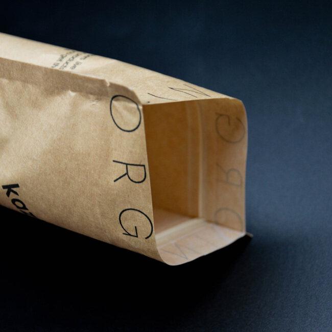 Compostable Packaging 100% Eco-friendly Food Packaging  Paper bags with Window Ziplock