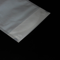 Manufacturer 100% Bio Bag  with Zip Top Biodegradable Cornstarch Package Bag Compostable Bags