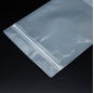Ready to Ship Resealable Ziplock Clear Bags in Stock Food Grade Retail Package Pouch Bag