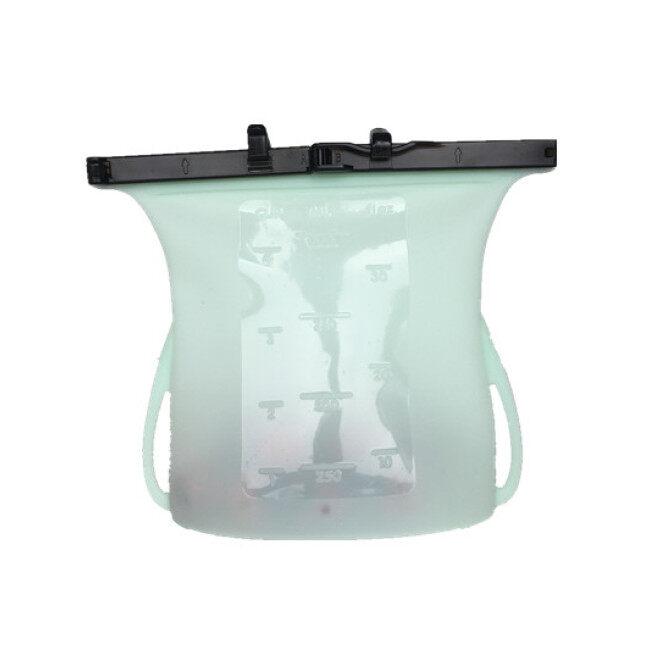 Stock Product Silicone Food Storage Bag Reusable Silicon Food Grade Bag