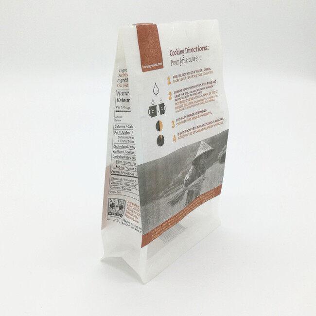 OEM Biodegradable Coffee Pouch Kraft Coffee Bag
