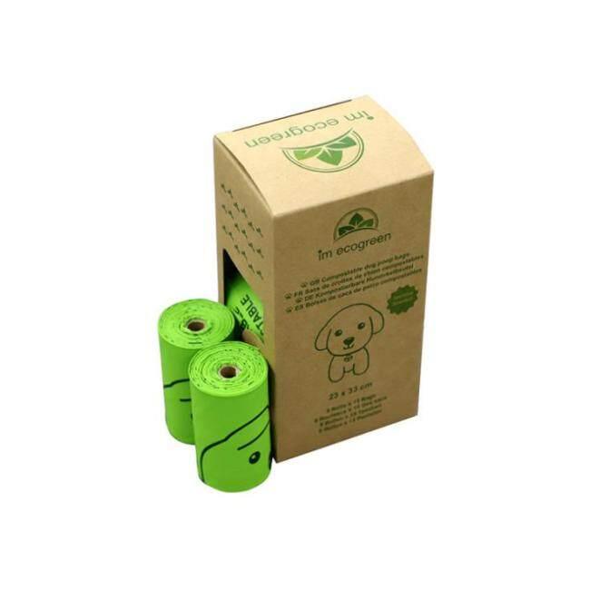 factory price biodegradable PLA plastic bag ,dog waste compost bag on roll