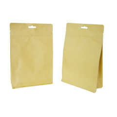 In Stock Smell Proof Kraft Paper Bags Wholesale Coffee Bags Food Packaging Pouch