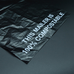 Custom Eco Friendly Plastic Poly Mailers Biodegradable Mailing Bag Compostable  clothing Shipping Courier Bags