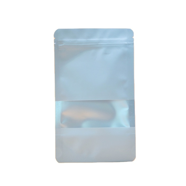 Ready to Ship Ziplock Bag Packaging Plastic Bags Aluminium Foil Food Packages with Window