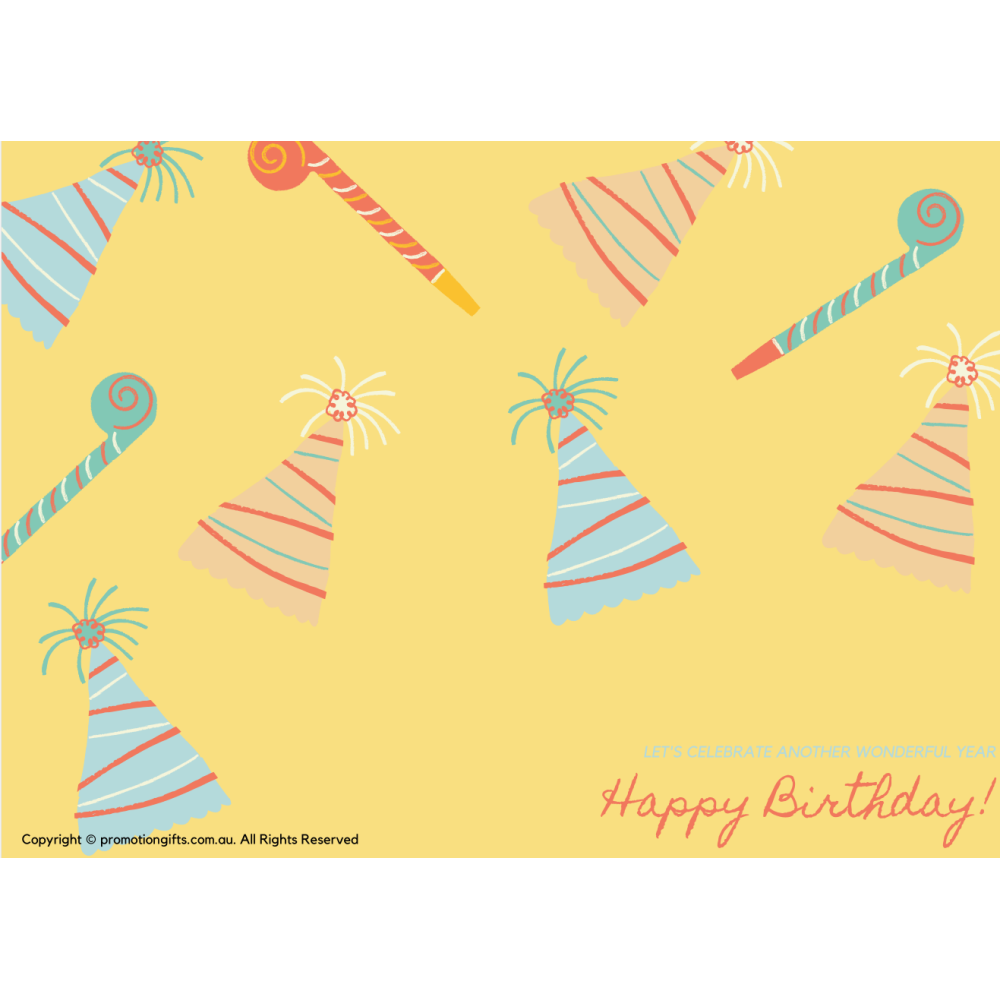 Happy Birthday Cards 10cm*15cm