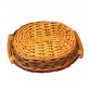 Willow Shoots Hand-made Oval Basket For Gift Packaging