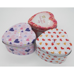 Heart Tin Gift Box