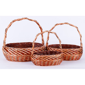 Basket With Handle Set 3