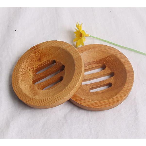 Round Biodegradable Bamboo Soap Base