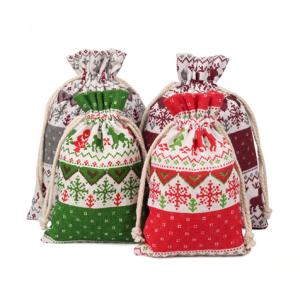 Christmas Drawstring Bags