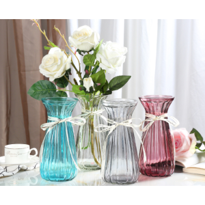 Clear Glass Vase For Flower Gift