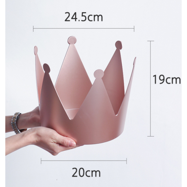 Crown Flower Container For Gift Packaging