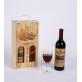 Two-Bottle Wooden Wine Box