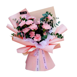 Double-faced Color Flower Wrapping Paper Waterproof Design