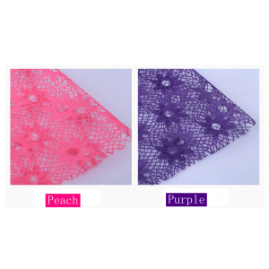 Lace Mesh Flower Packing Sheet Pack 20