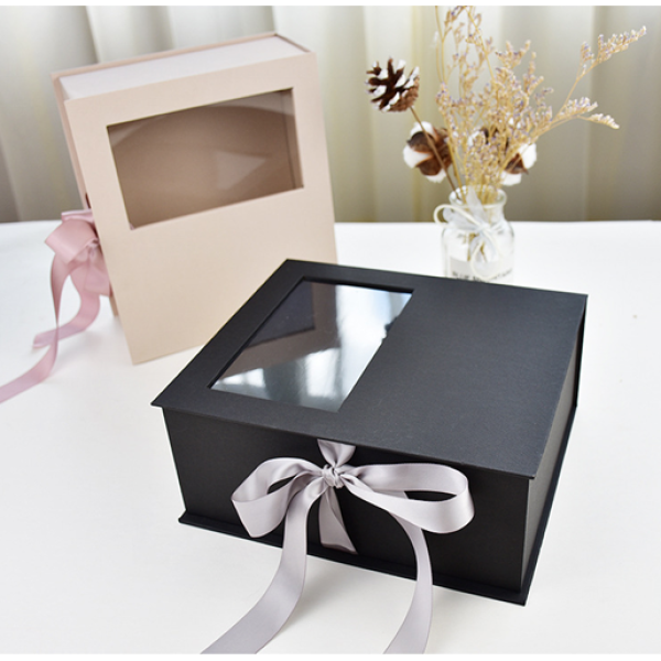 Quality Gift Box Comes In Two Colors Customized Logo