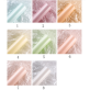 Tissue Paper Flower Wrapping Shining Colorful Design Pack 20