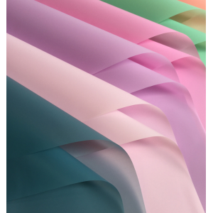 Flower Wrapping Paper Glossy Waterproof With Multiple Colors Available