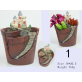Resin Creative Plant Pots For Plant Gifts