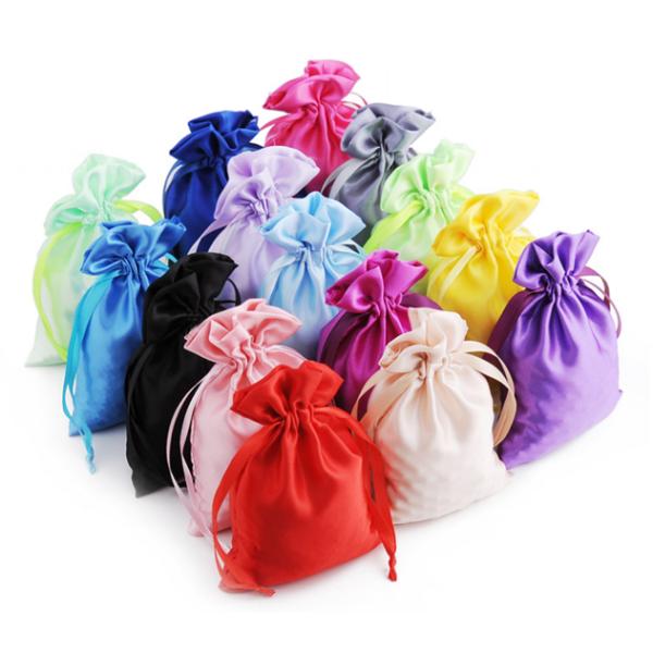 Satin Drawstring Bags