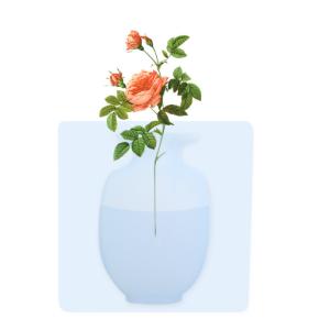 Magic Silicone Sticky Vase