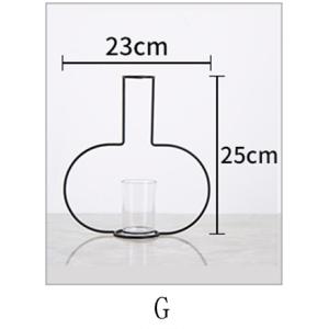 Metal Wire Fashion Vase
