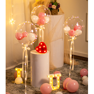 LED Light Transparent Balloon