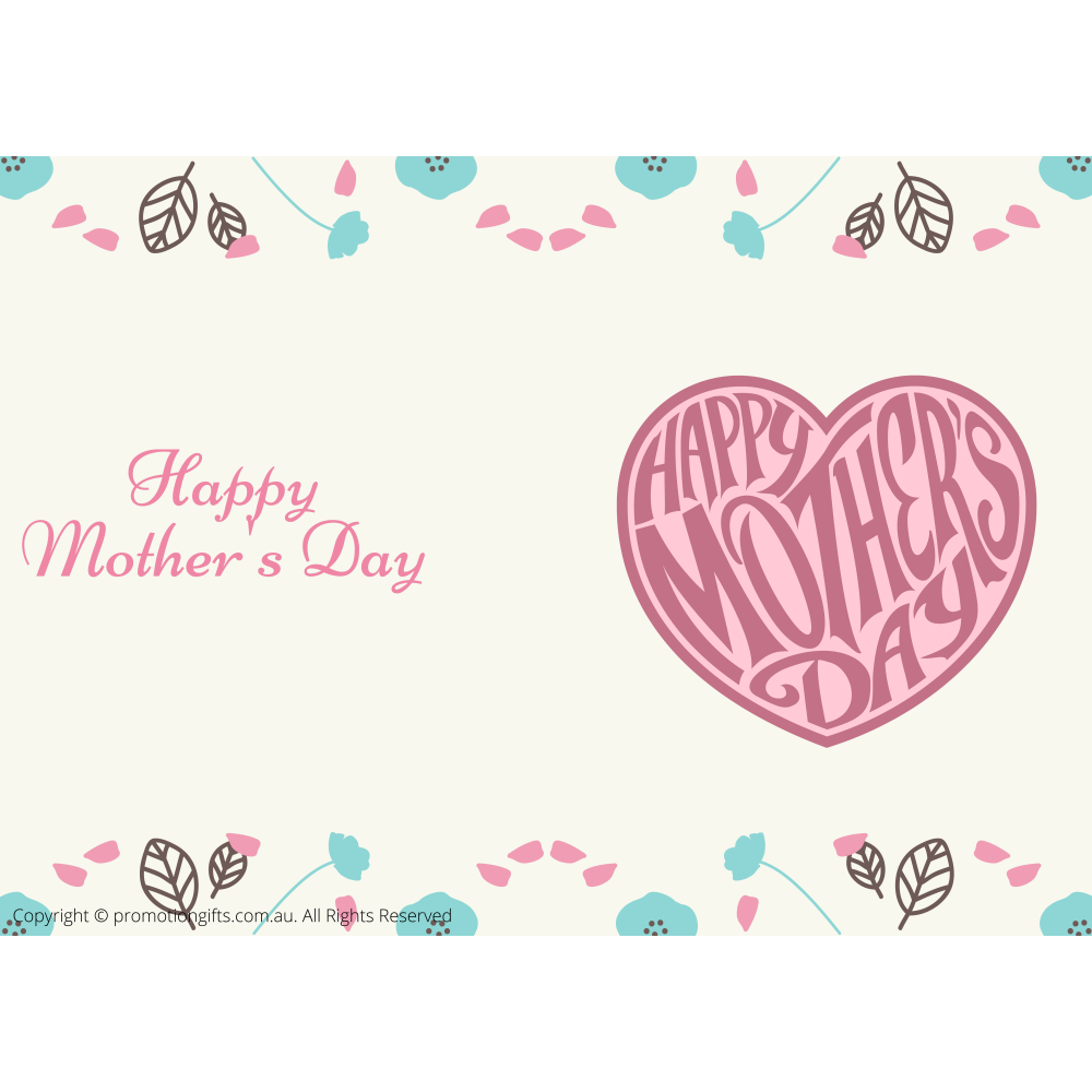 Happy Mothers Day Cards 10cm*15cm