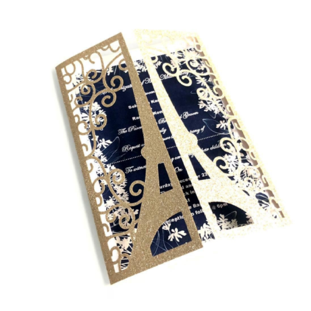 Butterfly Laser Cut Gift Card With Envelope