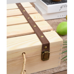 Vintage Portable Gift Wine Box