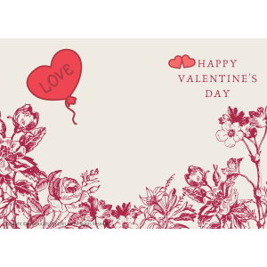 Valentines Cards 10cm*15cm