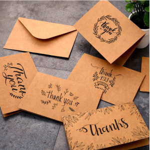 Thank You Cards 10cm*15cm With Envelope