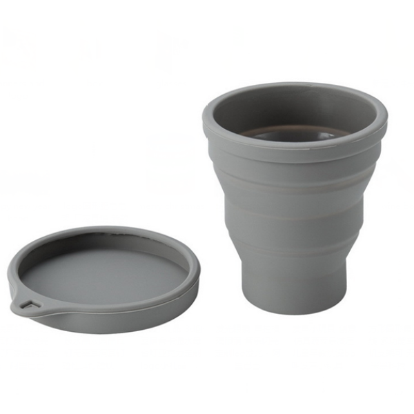 Foldable Collapsible Silicone Pocket Drinking Cup