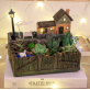 Resin Plant Pot With LED Light