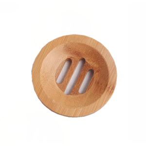 Round Biodegradable Bamboo Soap Base