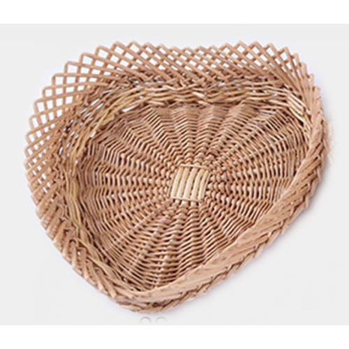 Heart Shape Willow Baskets In Three Sizes