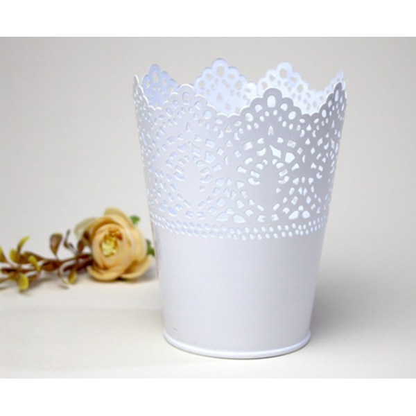 Lace Tin Bucket Personalized Logo