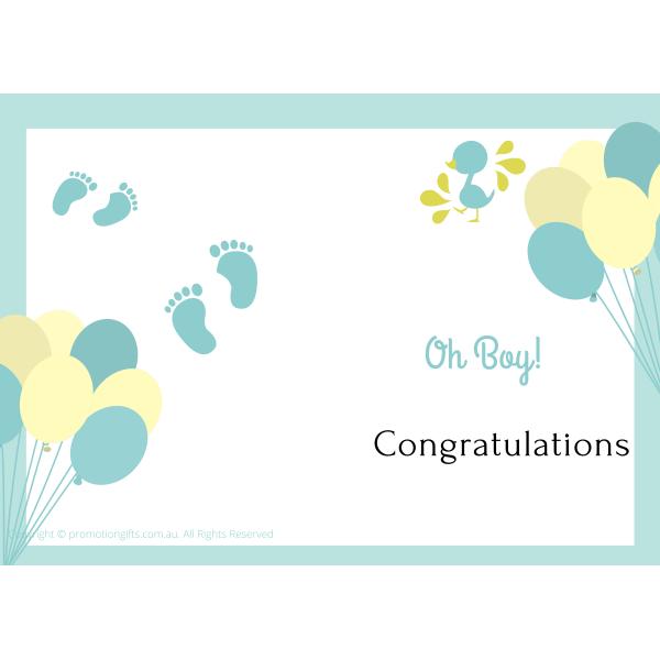 Baby Boy Cards 10cm*15cm