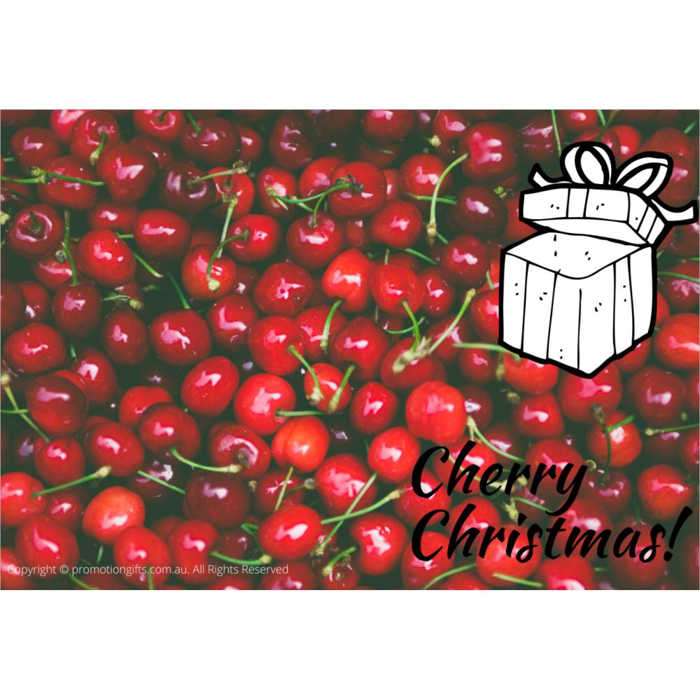 Christmas Gift Cards 10cm*15cm Cherry Christmas