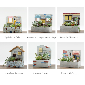 Novelty Plant Pots With Stories
